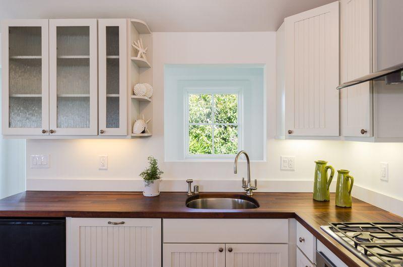 Chef's Kitchen with Garden View
