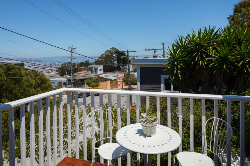 Living Room View Deck